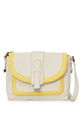 Contrast Carry Crossbody Bag
