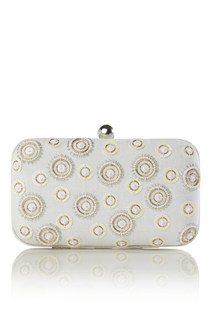 Alexa Beaded Clutch