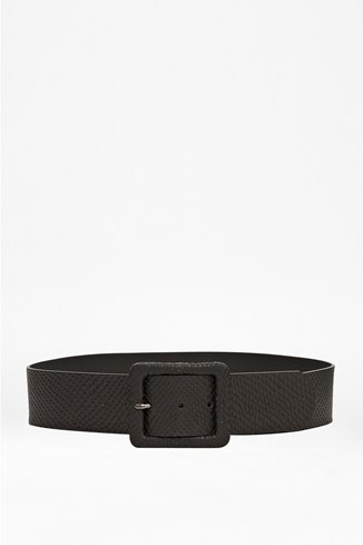 Heather Leather Belt