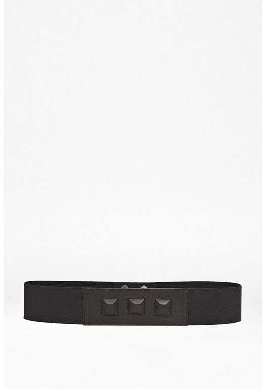 Caroline Studded Leather Belt