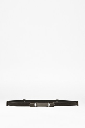 Daisy Slim Leather Belt