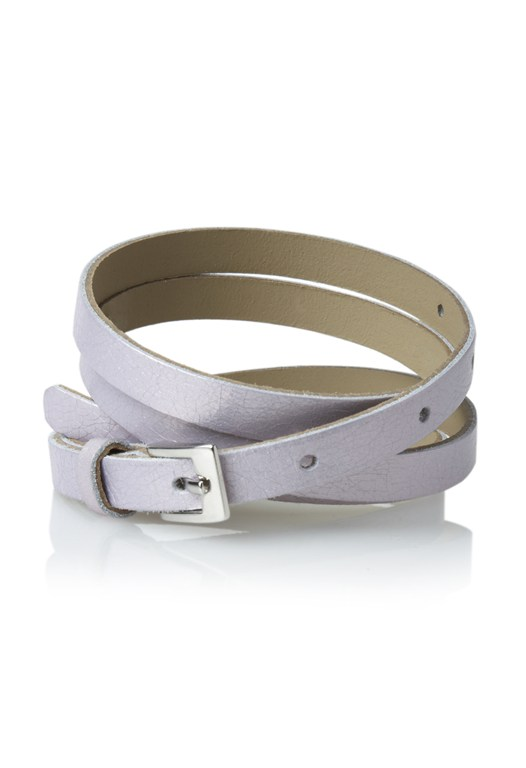 Magic Metallic Skinny Belt