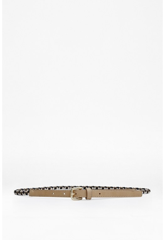 Serena Plaited Belt