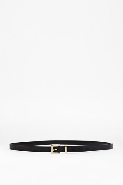 Felix Skinny Leather Belt