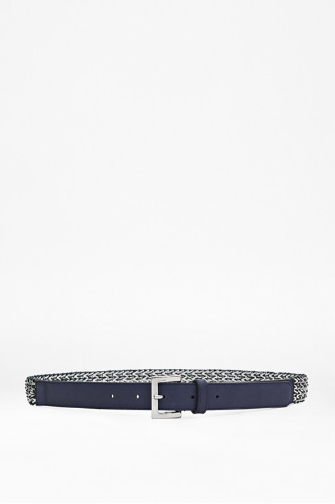 Nicola Plaited Leather Belt