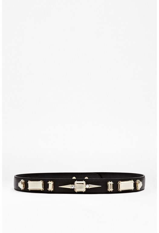 Honey Leather Waist Belt