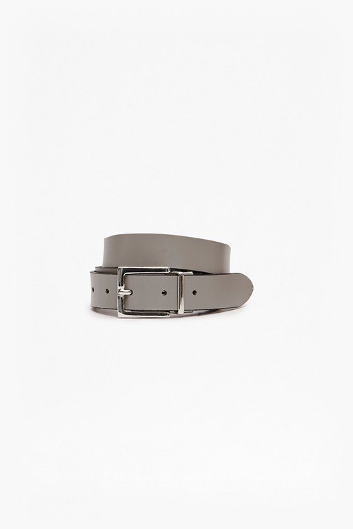 Reversible Leather Buckle Hip Belt