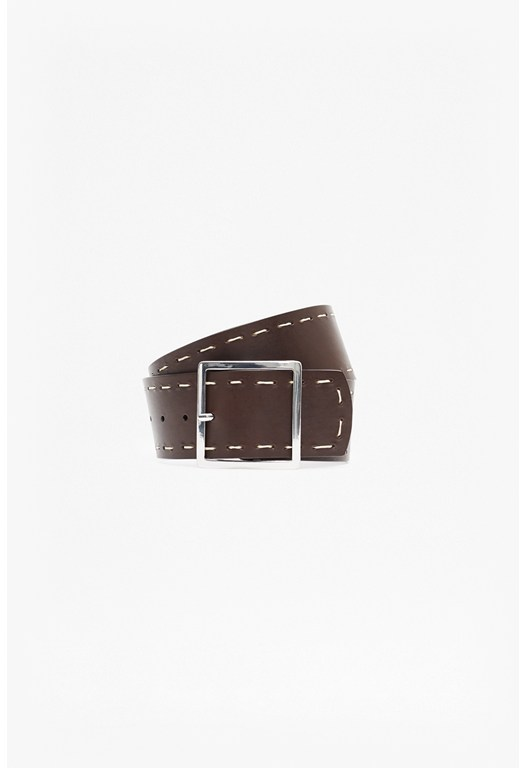 Leighton Stab Stitch Waist Belt