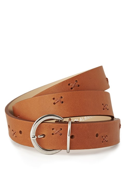 Stitch It Leather Belt