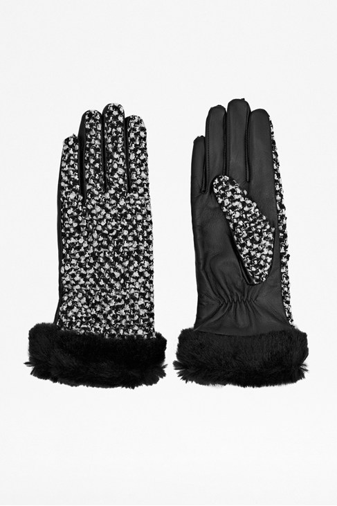 Ursula Faux Fur Trimmed Gloves