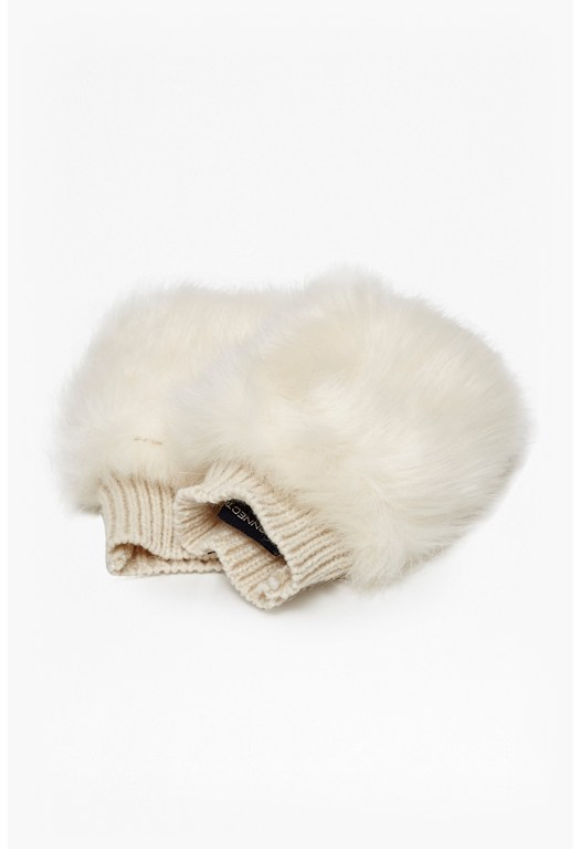 Tahli Faux Fur Gloves