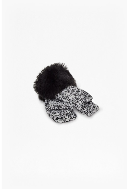 Knitted Rocha Mittens
