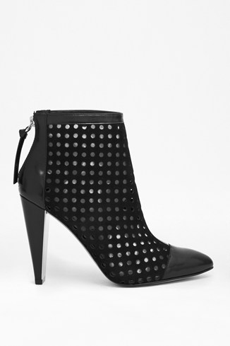 Maresella Perforated Suede Platforms
