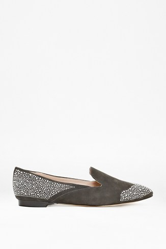 Gabbie Embellished Suede Shoes
