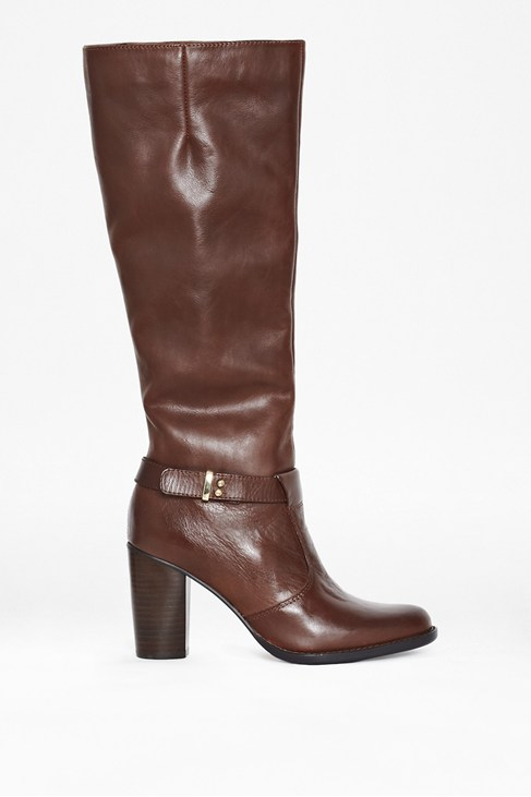 Olga Leather Knee-High Boots