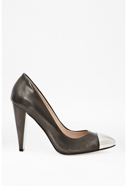 Jolynn Leather Court Heels