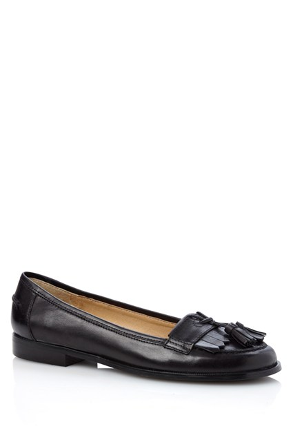 Tassel Front Low Loafer