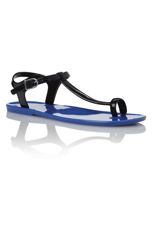 Elliot T-Bar Jelly Sandals