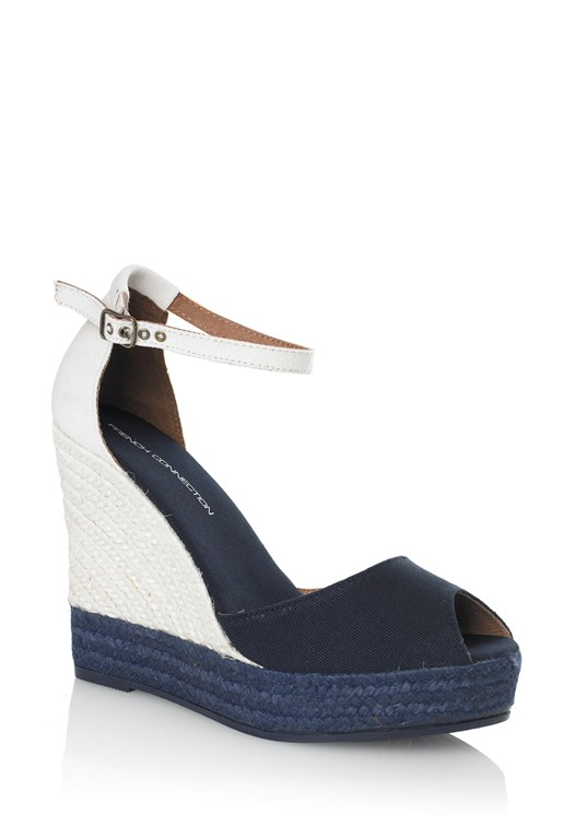 Morgan Ankle Strap Wedges