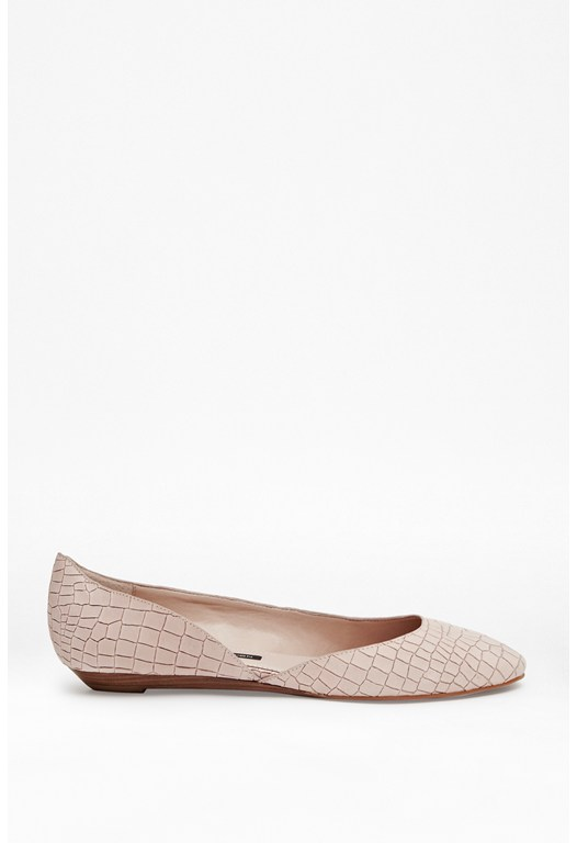 Asia Leather Flats