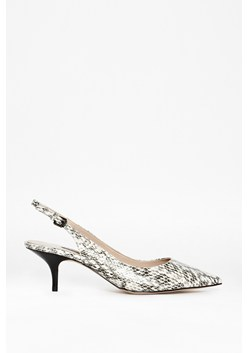 Edna Leather Slingbacks