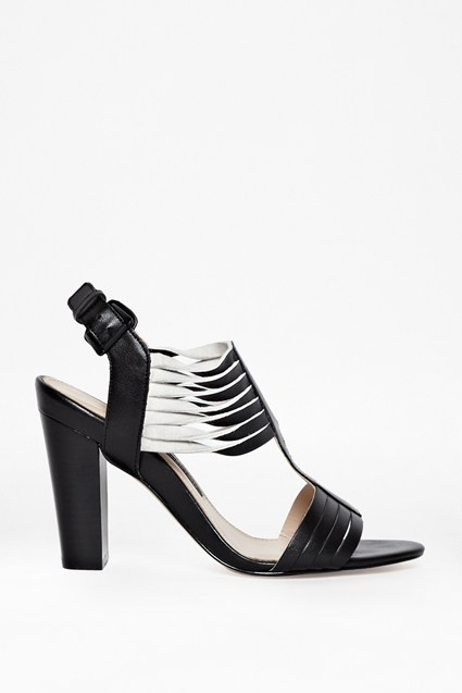 Kamilla Leather Heeled Sandals