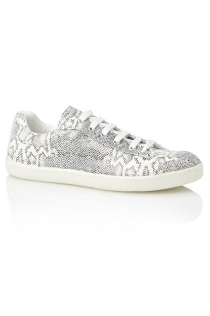 Dexter Snake Print Trainers