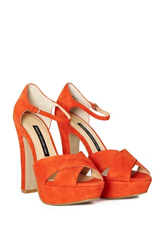 Gemma Leather Platform Sandals