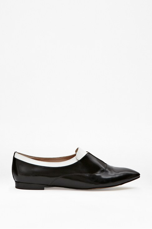 Giovanna Leather Flats