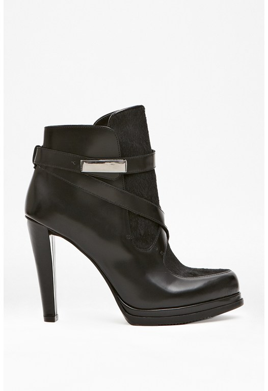 Serena Strappy Leather Boots