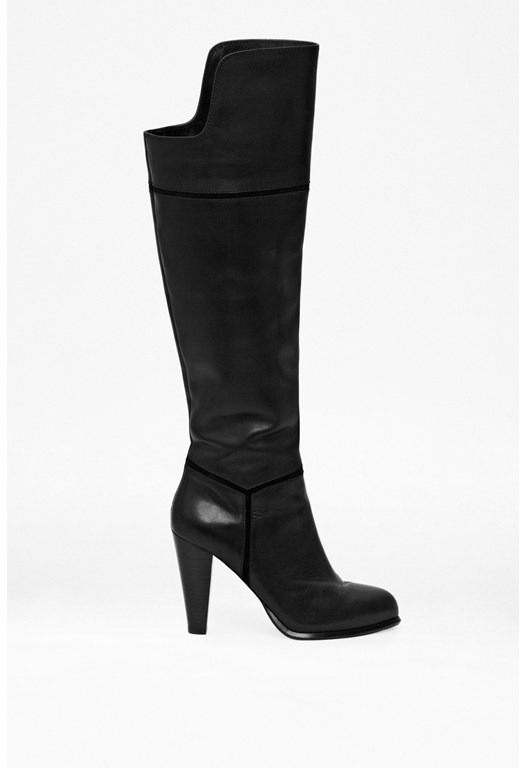 Cai Leather Knee-High Boots