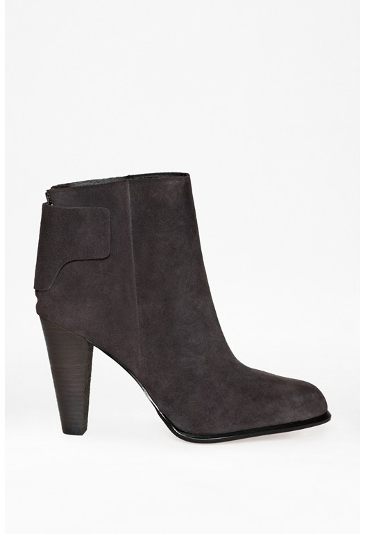 Cameo Suede Ankle Boots