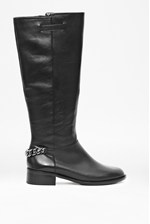 Looks Great With Gracelyn Long Leather Boot