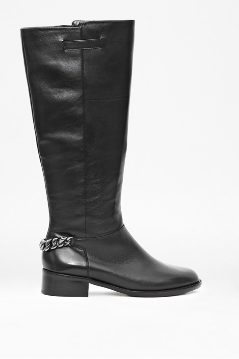 Gracelyn Long Leather Boot