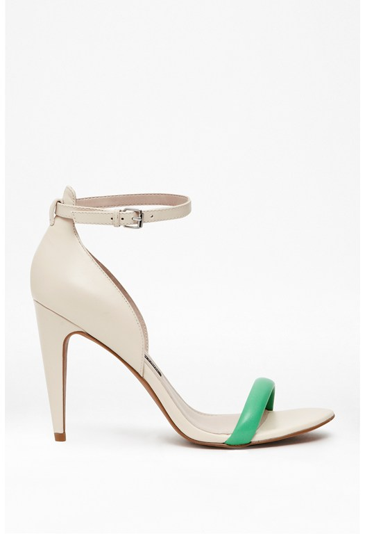 Nanette Leather Heeled Sandals