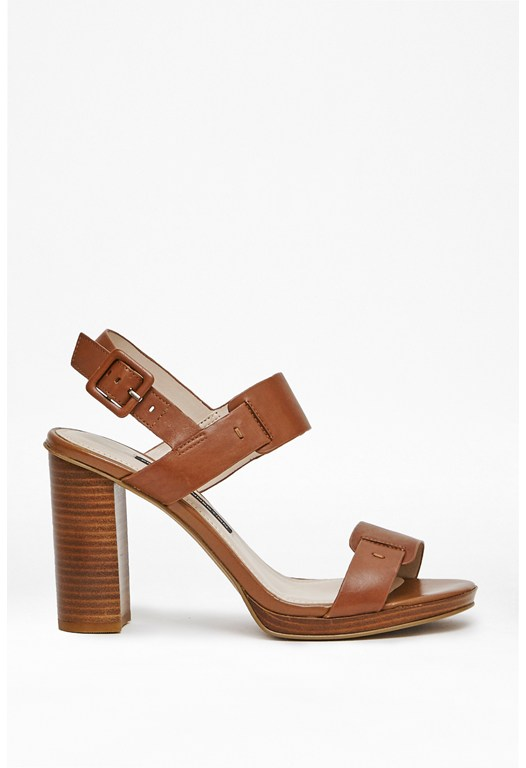 Toma Leather Heeled Sandals
