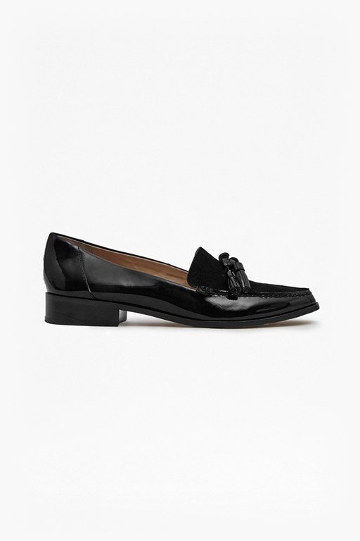 Complete the Look Lonnie Patent Leather Loafers