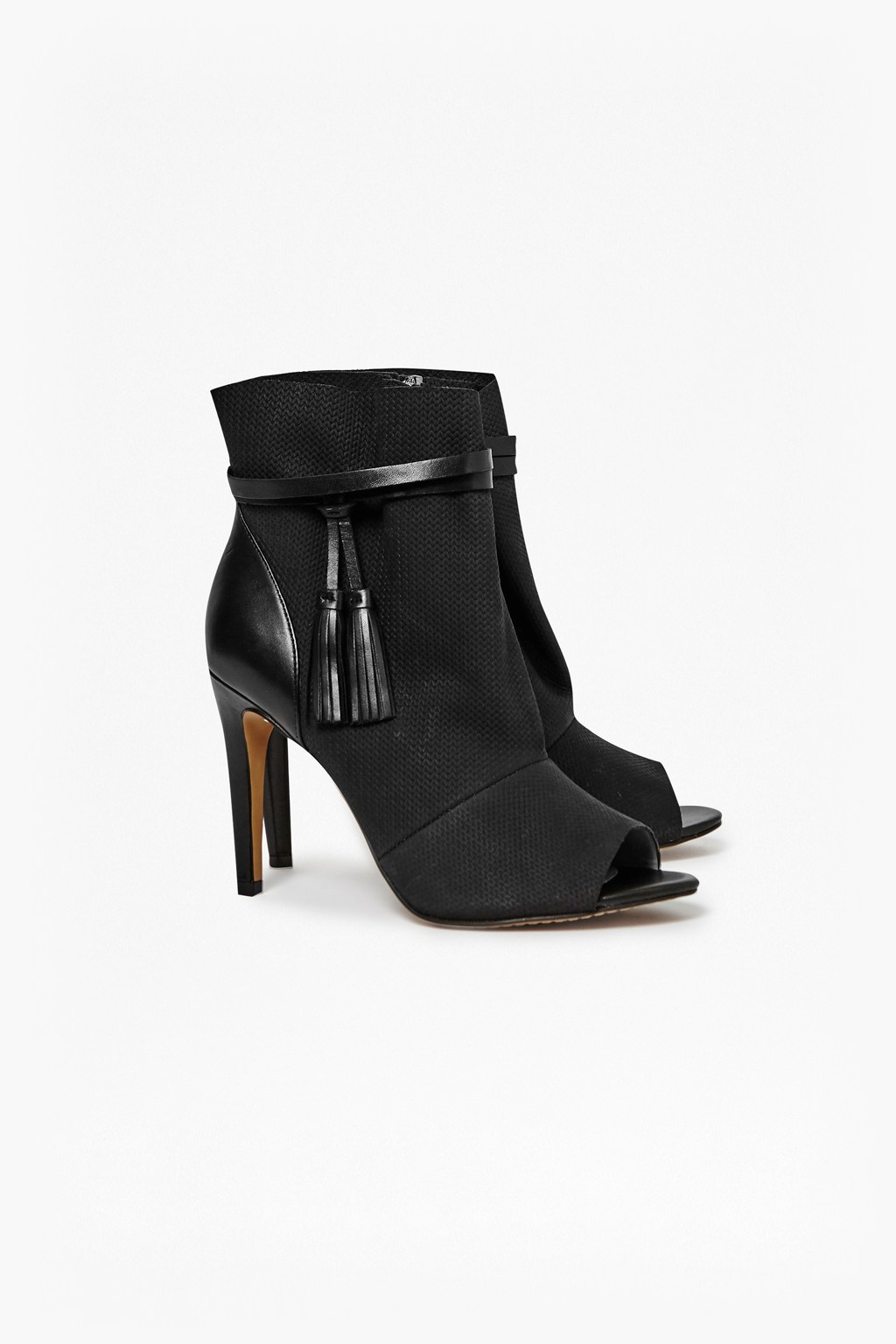 Open Toe Ankle Boot