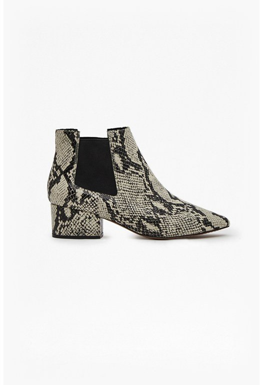 Ronan Snake Ankle Boots
