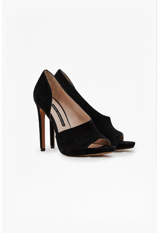 Velora Asymmetrical Cut Out Heels