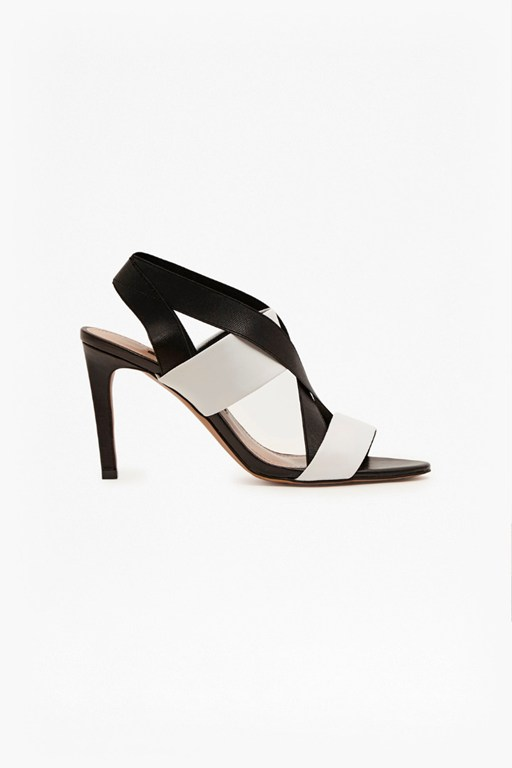 Complete the Look Limor Leather Stiletto Sandals