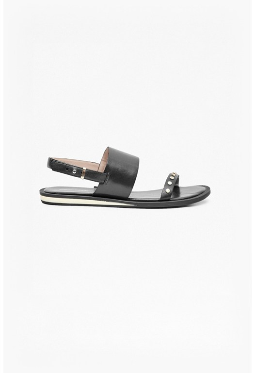 Indah Studded Leather Sandals