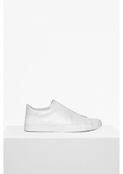 Leather Non Eyelet Trainers