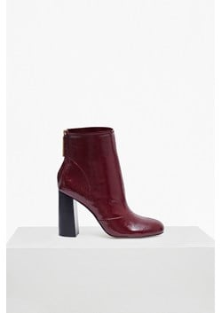 Capri Patent Heeled Ankle Boot