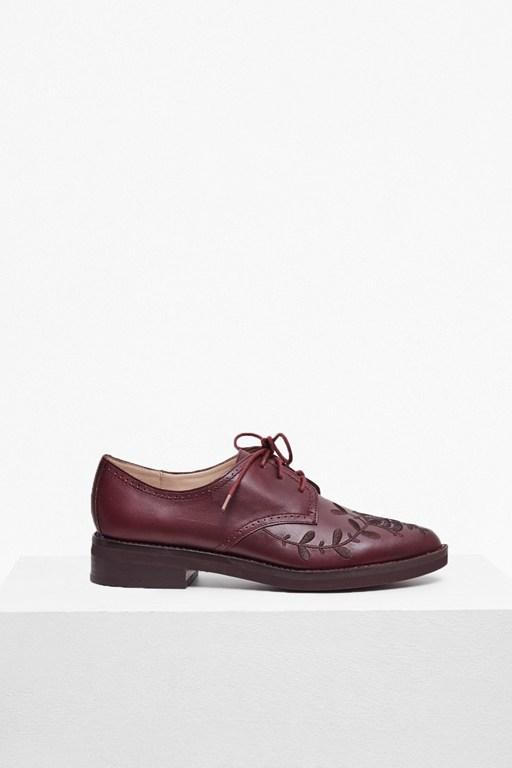 Complete the Look Maci Embroidered Leather Brogues