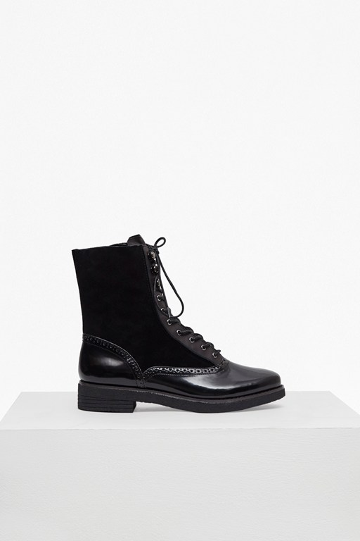 Complete the Look Vanja Lace Up Leather Boots