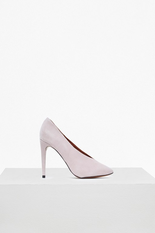 Arianna High Vamp Court Shoes