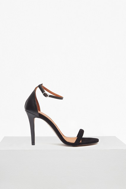 Elena Strappy Leather Heeled Sandals