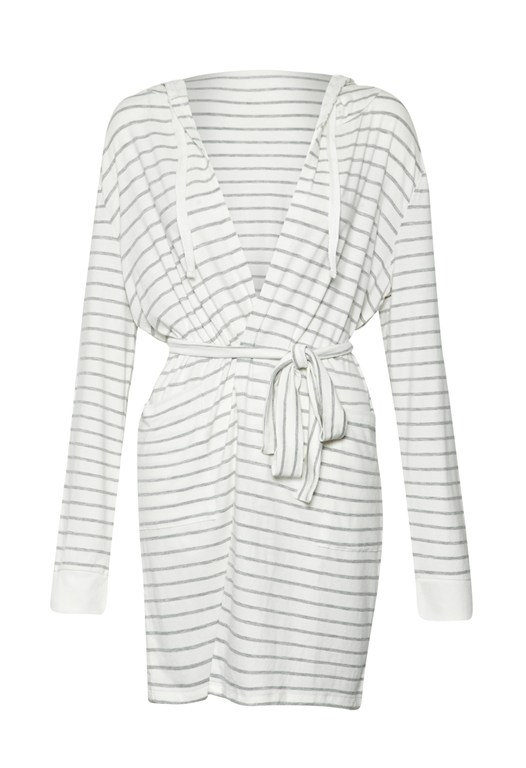 Sabrina Striped Robe