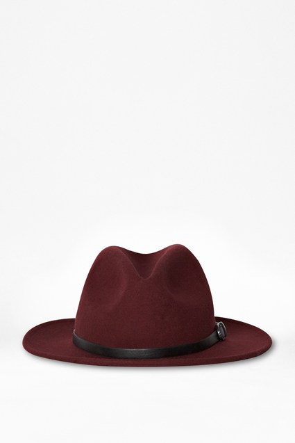 Isabella Wool Trilby Hat